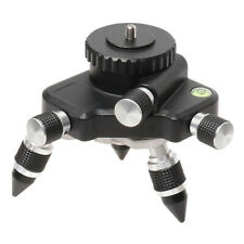 Heavy Duty Laser Level Adapter 360° Rotating Base for Line Laser Level Tripod