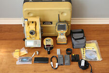 "Topcon GPT-905A 5"" Robotic Total Station Setup w/ RC-3, FC-2500 Collector SurvCE"
