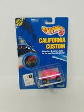 Hot Wheels 1989 California Custom VW BAJA BUG 1238, Card wear