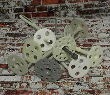 500x Dämmstoffdübel Tellerdübel Schlagdübel WDVS Thermodübel PVC 10 x 180