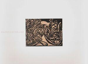EWALD MATARE - LANDSCAPE * rare print * mounted