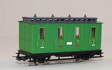 HOe Personenwagen grün II / III Klasse neu