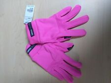 Swiss Tech Gloves Electric Pink with Text tip Finger Spandex/Poly Size L-Xl/G-Xg