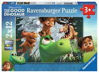 Ravensburger 07571 Spot und die Dinosaurier 2 x 12 Teile Puzzle  NEUHEIT 2015*