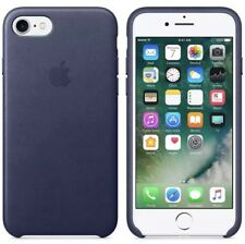 "Apple iPhone 7, 4.7"" Midnight Blue Silicon Case Great Handling Original Cover"