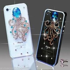 NEW 3D DELUX LUXURY BLING ANIMAL CAT DIAMANTE CASE FOR IPHONE SAMSUNG SONY HTC