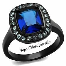Cubic Zirconia Stainless Steel Fashion Rings