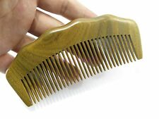 Natural Sandalwood Comb Sandal Wood Healthy Hair Beard Mustache Comb Wavy