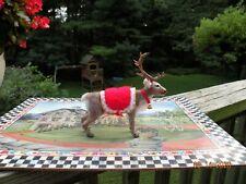 Ooak Realistic Dollhouse Miniature Artist Sculpted Rudolph Christmas Reindeer