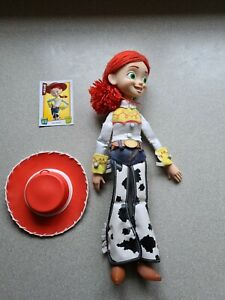 Disney Pixar/Store Toy Story Jessie Talking Pull String Doll Complete With Hat
