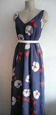 BNWT PAUL & JOE silk blend MAXI DRESS FR36