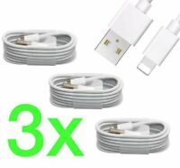 3x PREMIUM iPhone Ladekabel Lightning USB Kabel 1m für iPhone SE 2020 (2. Gen.)