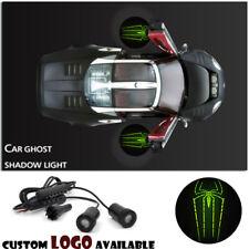 Car Door Green Spider Spiderman Logo Projector Laser Courtesy Ghost Shadow Light