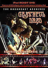 The Grateful Dead - The Broadcast Archives (DVD, 2008) Brand new and sealed