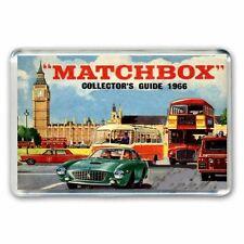 RETRO MATCHBOX  CARS 1966 CATALOGUE ARTWORK - JUMBO FRIDGE / LOCKER MAGNET
