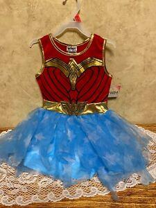 WW84 Wonder Woman Tutu Dress Costume Size XS 4-5 Halloween New