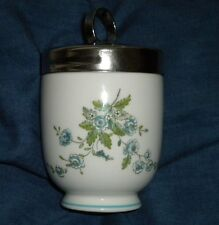 BEAUTIFUL COALPORT EGG CODDLER KING, TINTERN VARIATION, BLUE, NICE HEAVY PIECE