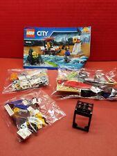 Lego City Coast Guard 60163 No Box Complete Set