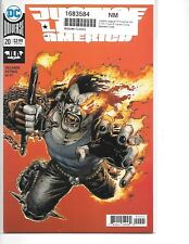 Justice League Of America Vol 5 #20 Lobo Variant Cover NM