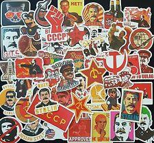 Russian Propaganda Stickers USSR Soviet Stalin Communism Matte Skate Laptop PC