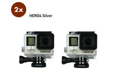 GoPro HERO 4 Silver Edition Camera Camcorder  LOT OF 2 CAMERAS / Wholesale