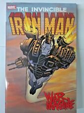 THE INVINCIBLE IRON MAN WAR MACHINE, SOFT COVER- FREE SHIPPING!