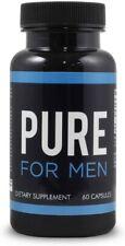 Pure for Men - The Original Vegan Cleanliness Fiber Supplement  60 capsule