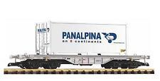 """Piko 37721 G - Flachwagen mit 20`Container """" Panalpina """" NEU & OvP"""