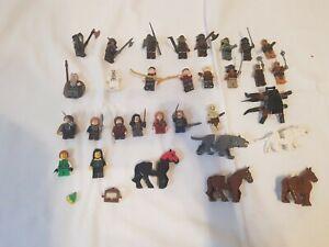 Lego 30x Figuren Herr Der Ringe 9473 79018 79002 wie 9474 SELTEN