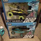 2 - NEW X/B Remote Control Sky Wheels Flying Car Toy DRIVES & FLIES