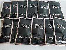 YSL  BLACK OPIUM  12 Pcs. DOSE DE PARFUM EAU DE PARFUM 0.04fl.oz /1.2ml/EACH