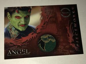 Buffy Angel Season 5 Costume Card PW7 Lorne Shirt - Inkworks -Rare!