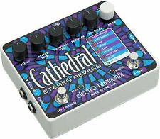 Electro Harmonix Cathedral Stereo Reverb Tap Tempo Pedal FREE NEXT DAY AIR!