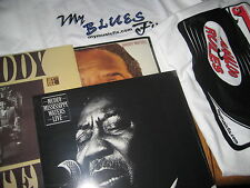 MUDDY WATERS MISSISSIPPI LIVE I'M READY KING BEE  3 LPS + BLUES FIX RULES TSHIRT