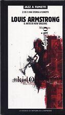 LOUIS ARMSTRONG - Il mito di New Orleans - BOX 2 CD + FUMETTO 2003 EDITORIALE