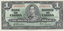 @@@@@ Canada $1 1937 Pick 58d P58d BC-21c uncirculated UNC not PMG @@@@@