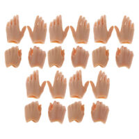 10Pair 1:6 Scale Action Figure Hands Model for 12inch TTL Enterbay   Accs