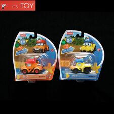 RoboCar Poli Mark Bucky Diecast Die-cast Figures Truck Buggy Car 2pcs Set 2016