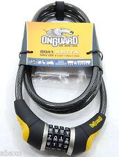 OnGuard Akita Resettable Combo Bike Cable Lock: 185cm X 12mm
