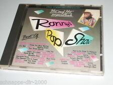 RONNY'S POP SHOW ( 1987 ) CD MIT BANGELS - EUROPE - QUEEN - GENESIS - SANDRA ...