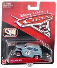 Disney Pixar Cars 3 River Scott 1:55 Diecast Vehicle w Collector Card IN HAND