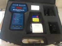 Bowmonk BrakeCheck Portable Truck Brake Tester MOT