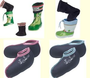 Playshoes Kinder Fleece Stiefelsocke Stiefel Gummistiefel Socken Gr. 18 bis 35