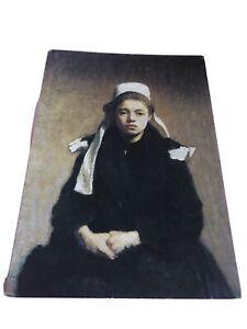 """""""A Breton Girl """"  By Roderic O'Conor   Hugh Lane Gallery Dublin. Postcard"""