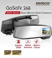 NEW PAPAGO GoSafe268 268 Rear Mirror Car Camera DVR SONY Sensor/Made in Taiwan