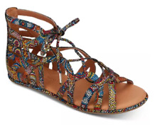Gentle Souls Break My Heart 3 Multi Gladiator Sandal Women's sizes 6-11/NEW