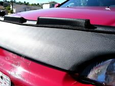 Car Hood Bra in CARBON Fits Honda Civic 92 93 94 95 1992 1993 1994 1995 EG EJ