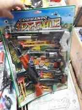 kit polizia 4 fucile pistole 1 fucile  gioco giocattolo cops leo