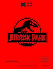Jurassic Park Pinball Game FULL Service/Repair Operations Manual Troubleshoot VA