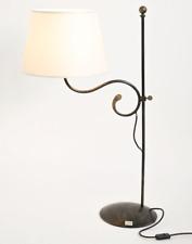 LAMPIONE PIANTANA PIATTO MINI IN FERRO BATTUTO LANTERNA PIANTANA LAMPADA